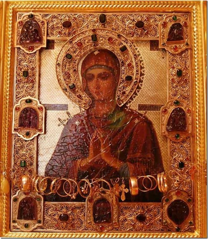 """Икона Божией Матери ,,Умягчение злых сердец"""""""