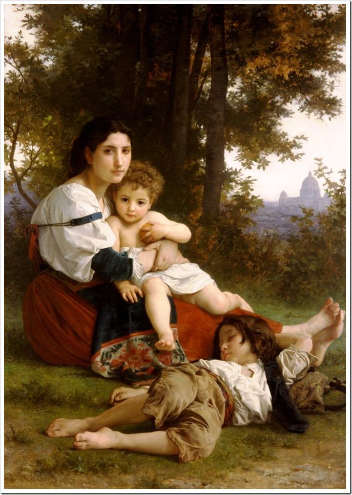 bouguereau_william_restLe Repos [Rest]1879