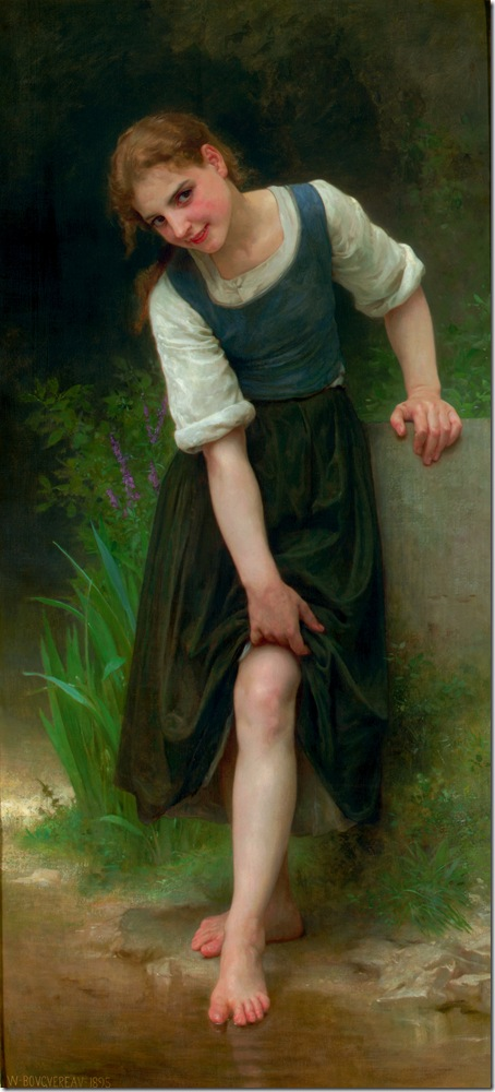 bouguereau_william_the_fordLe Gue [The Ford]1895-2