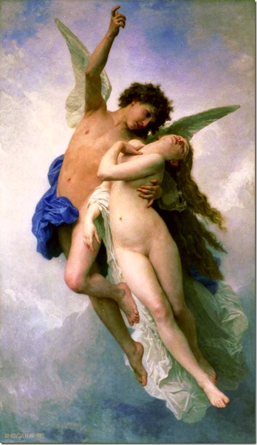 bouguereau_william_psyche_et_lamourPsyche et L'Amour [Psyche and Cupid]1889-2