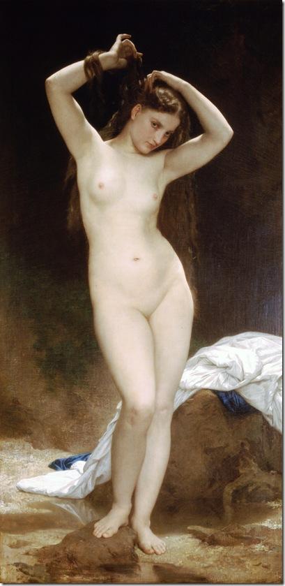 bouguereau_william_bather_1870 Baigneuse [Bather]-2