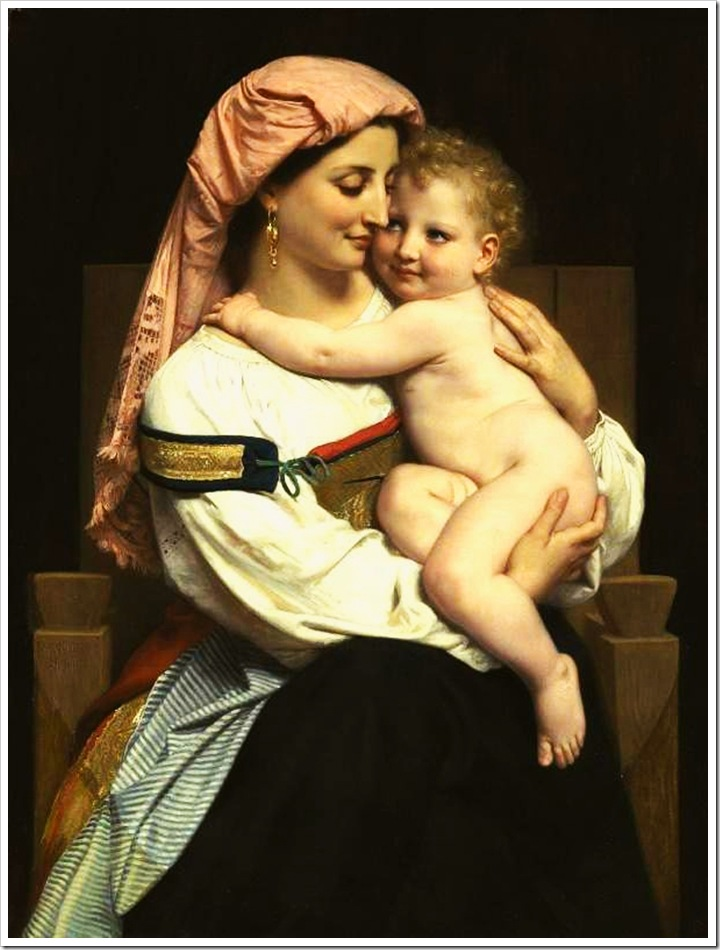 bouguereau_william_femme_de_cervara_et_son_enfant_1861Femme de Cervara et Son Enfant [Woman of Cervara and Her Child]