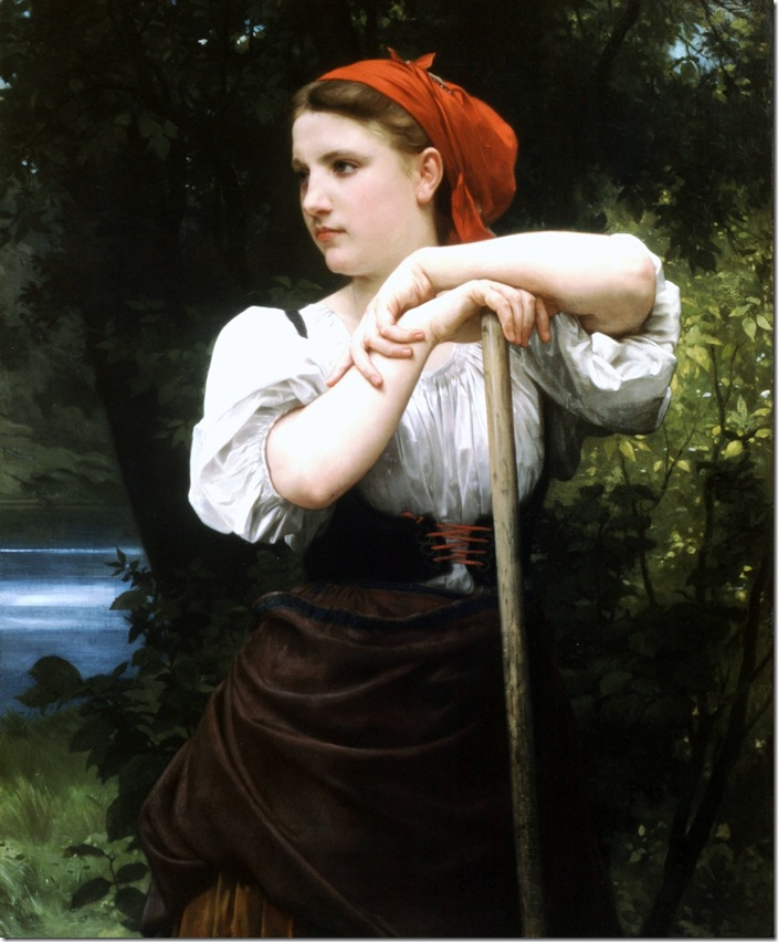 bouguereau_william_the_haymakerFaneuse [The Haymaker]1869