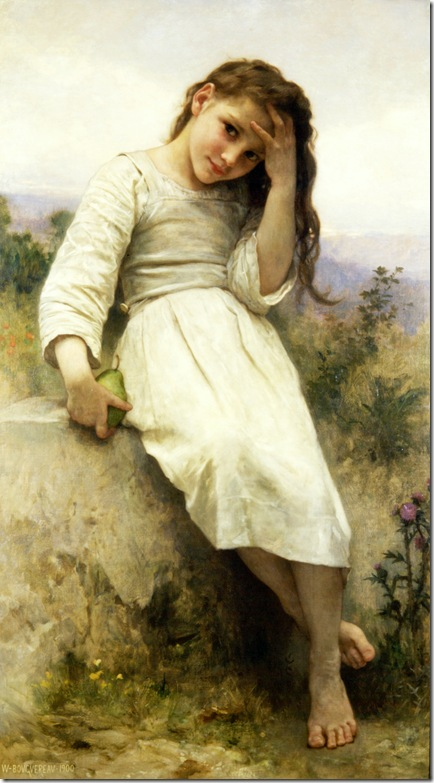 bouguereau_william_the_little_marauder_1900Petite Maraudeuse [Little Thief]