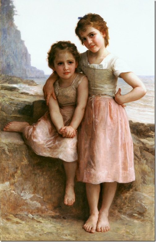 bouguereau_william_sur_la_greveSur la Greve [On the Rocky Beach]1896-2
