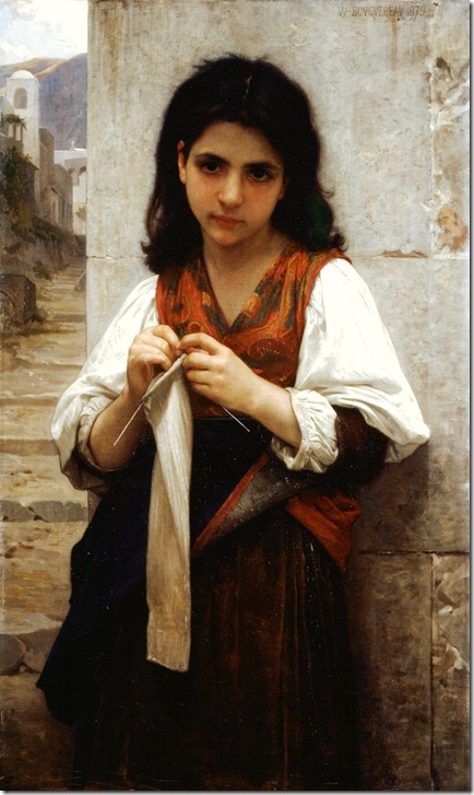 bouguereau_william_tricoteuse_1879Tricoteuse [The Little Knitter]-2