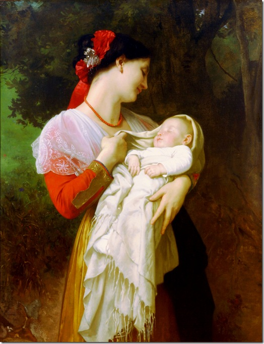 bouguereau_william_maternal_admirationAdmiration Maternelle [Maternal Admiration]1869-3
