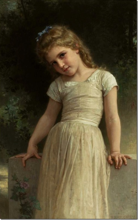 bouguereau_william_the_mischievous_oneThe Mischievous One1895