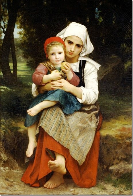 bouguereau_william_breton_brother_and_sisterFrere et soeur Bretons [Breton Brother and Sister]1871
