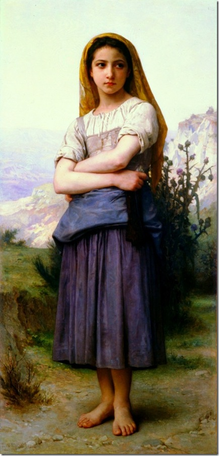 bouguereau_william_bergere_1886Tricoteuse [The Knitter]