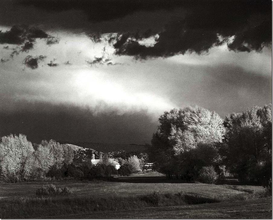 autumn_storm   Ansel Adams,photo,sahallin,Ансел Адамс,фото
