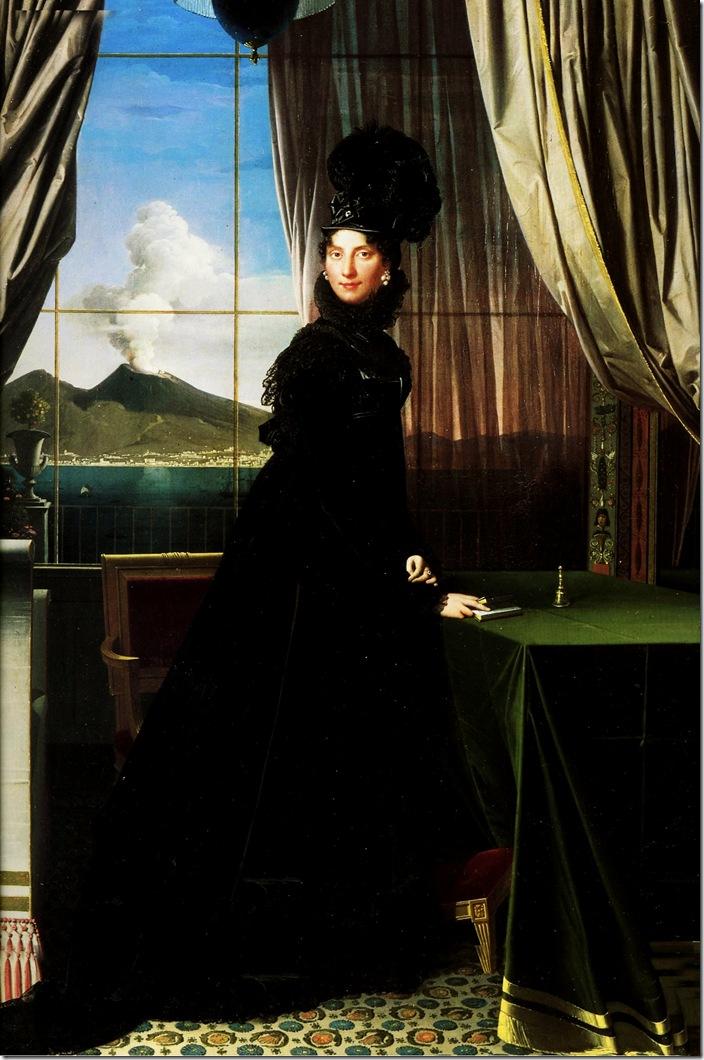 Caroline Murat 1814-Жан Огюст Доминик Энгр – Jean Auguste Dominique Ingres,sahallin