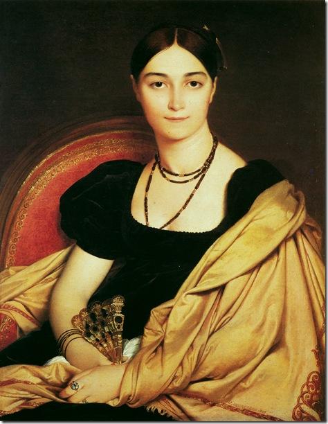 madame_duvaucey-1807  Жан Огюст Доминик Энгр – Jean Auguste Dominique Ingres,sahallin