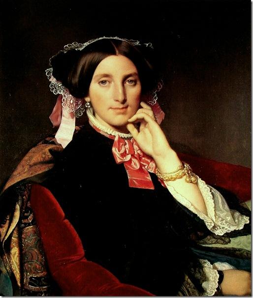 madame_henri_gonse-large.1845-1852-Жан Огюст Доминик Энгр – Jean Auguste Dominique Ingres,sahallin