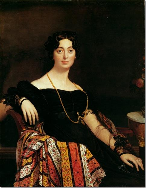 madame_jacques-louis_leblanc,_nee_frantoise_poncelle-1823-Жан Огюст Доминик Энгр – Jean Auguste Dominique Ingres,sahallin