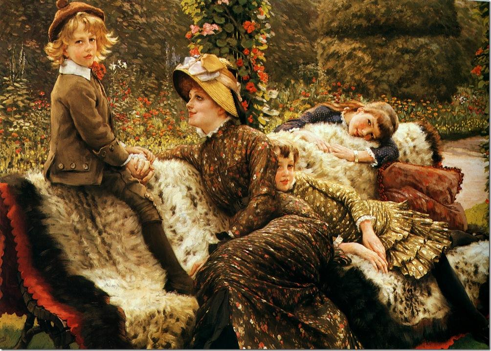 Джеймс Тиссо,художник,картины,живопись,Англия,Франция,James Tissot,artist,pictures,painting,England,France