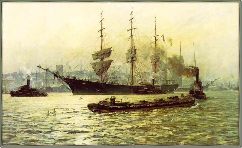 BlossomChristopher-Henry B Hyde ArrivingIn New York 1886