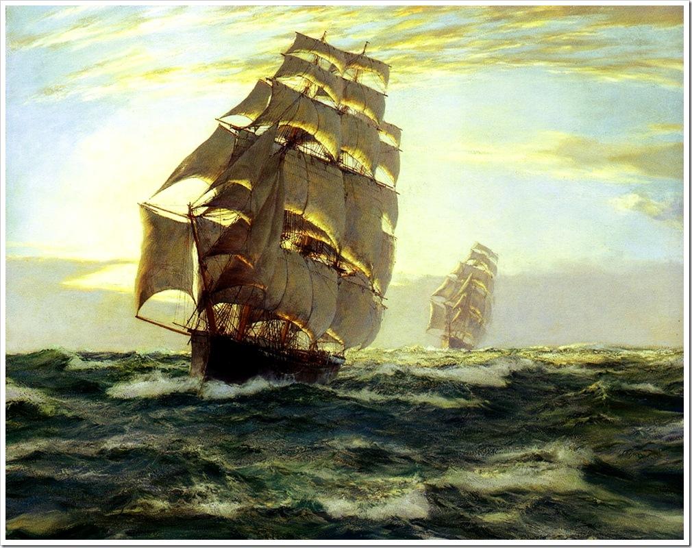 Montague Dawson (1895-1973) the_flying_cloud