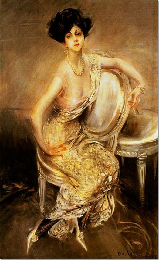 Boldini, Giovanni  Portrait of Rita de Acosta Lydig 1911