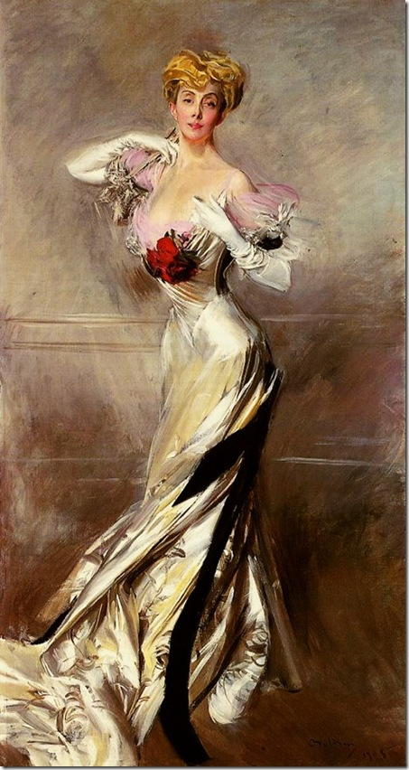 Boldini Giovanni Portrait of the Countess Zichy
