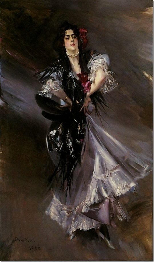 Boldini, Giovanni  Portrait of Anita de la Ferie The Spanish Dancer 1900