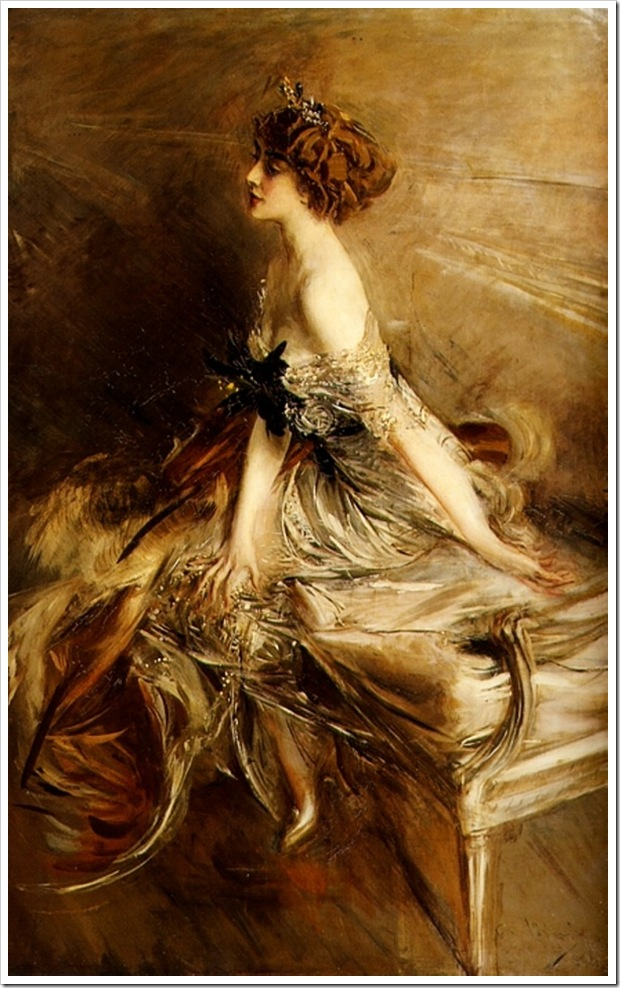 Boldini, Giovanni  Portrait of Princess Marthe Lucile Bibesco 1911
