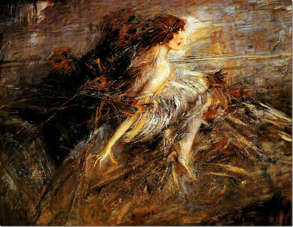 Boldini, Giovanni  Portrait of the Marquise 1914