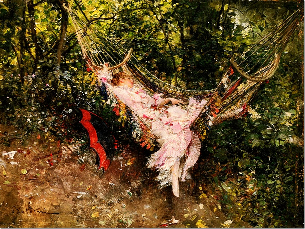 Boldini, Giovanni  The Hammock