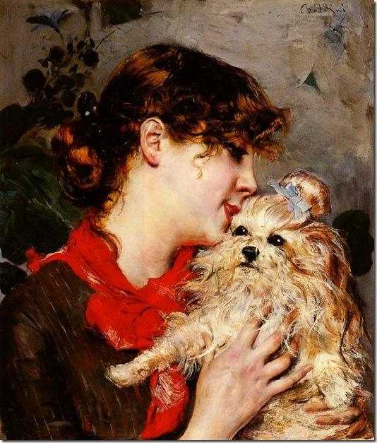 Boldini, Giovanni  Madame Rejane 1885