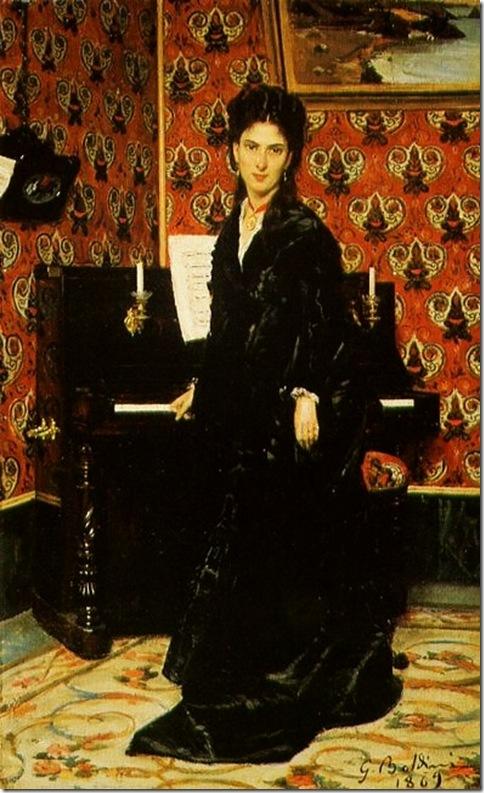 Boldini, Giovanni  Ritratto Mary Donegan 1869