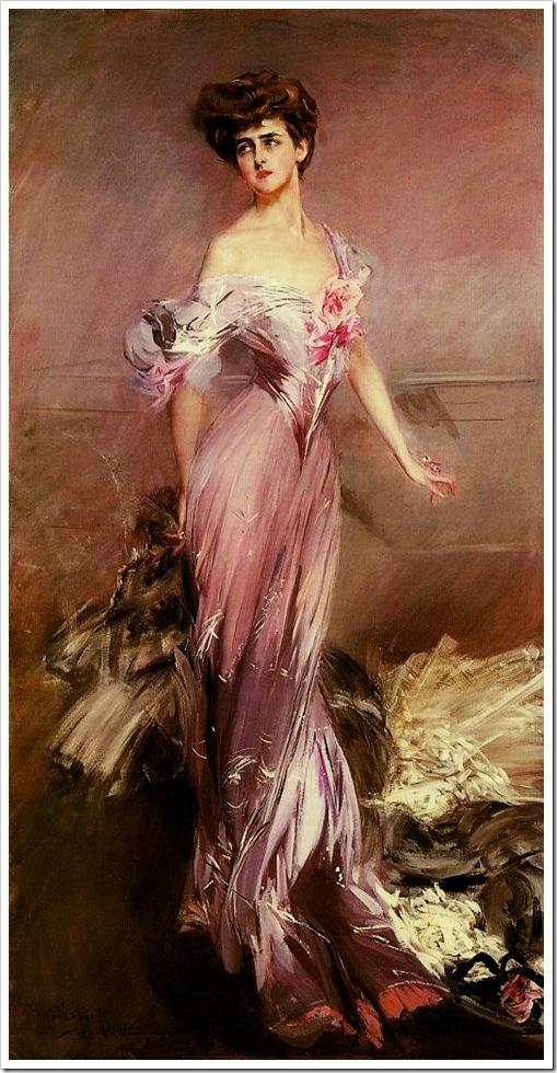 Portrait of Mrs Howard Johnston Dolly Baird of Bunbarton 1906