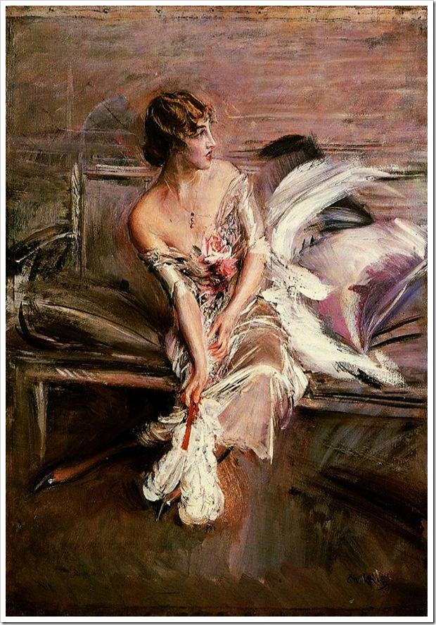 Boldini Giovanni Portrait of Gladys Deacon 1905