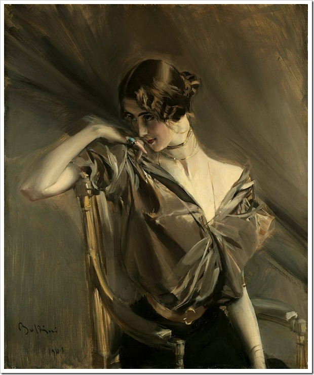 Boldini, Giovanni  Cleo de Merode 1901