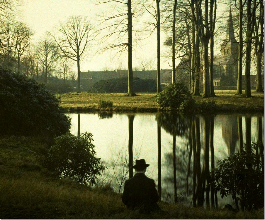 Charles Corbet, Melancholia - c. 1910, autochrome 8,5 x 10