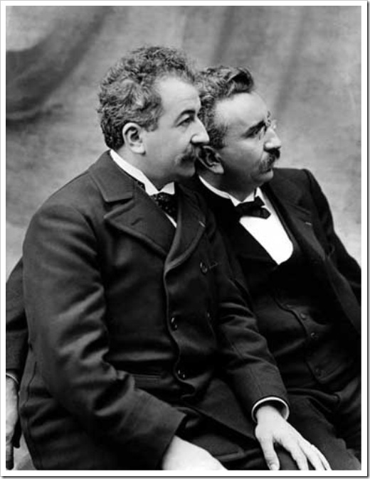 Огюст и Луи Люмьер,Auguste and Louis Lumière 1895