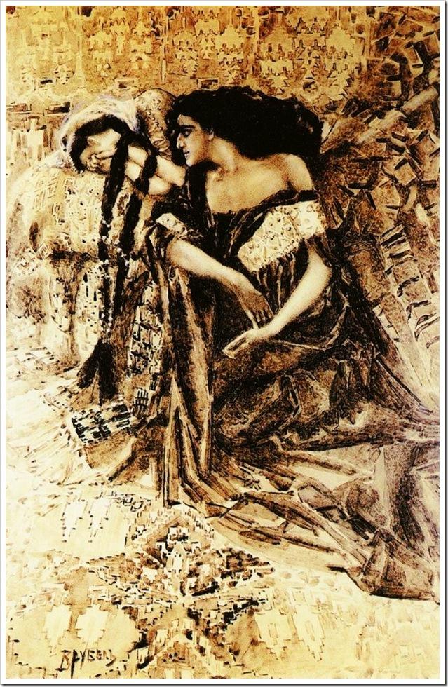 Тамара и Демон.1890-91