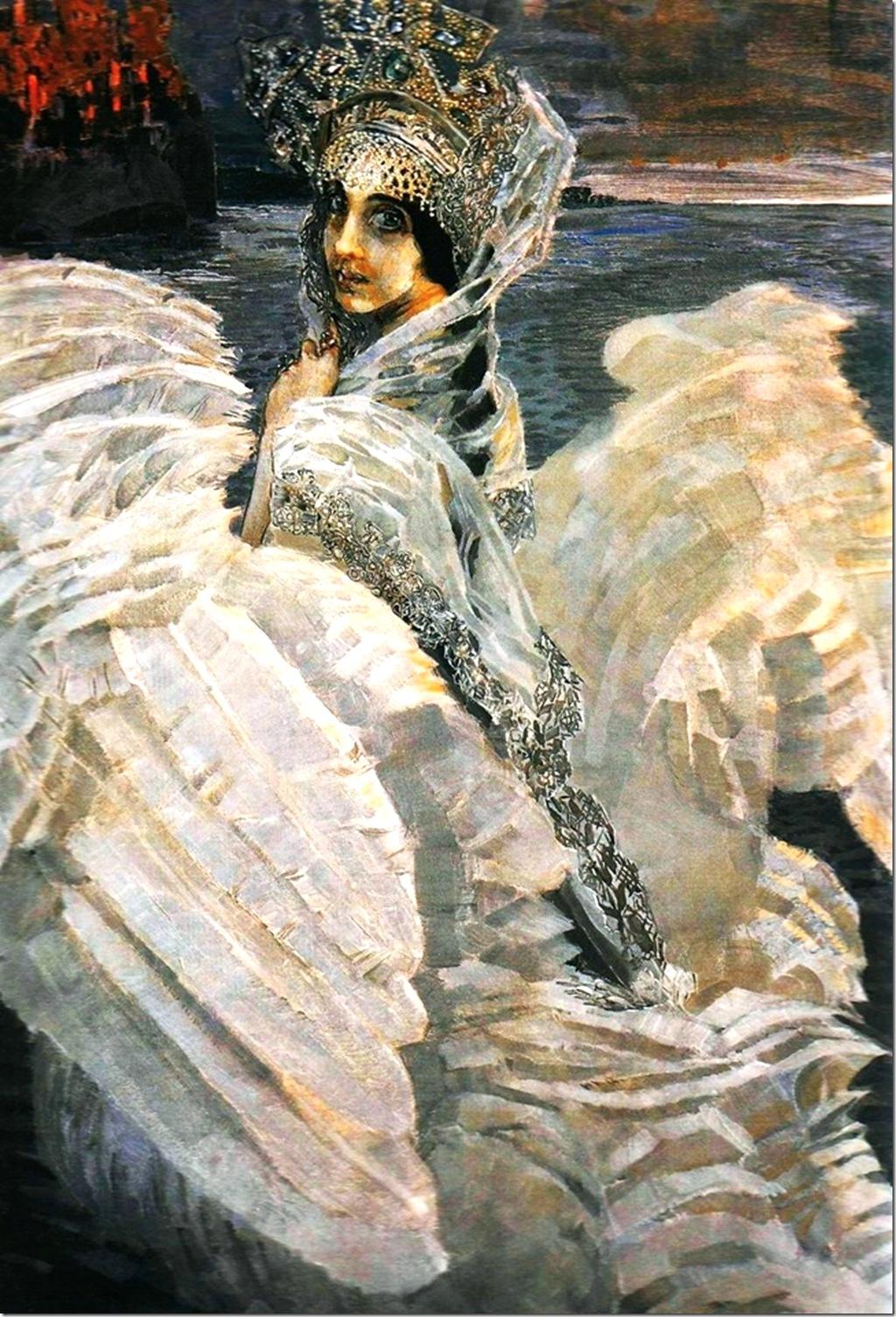 Михаил Врубель. Царевна - Лебедь. 1900 год