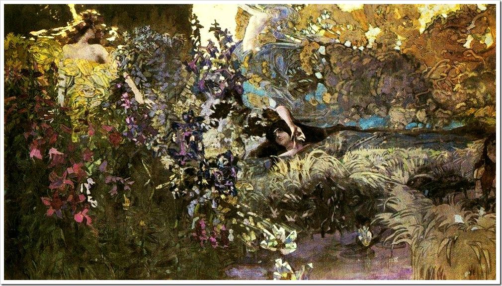 Михаил Врубель. Утро. 1897