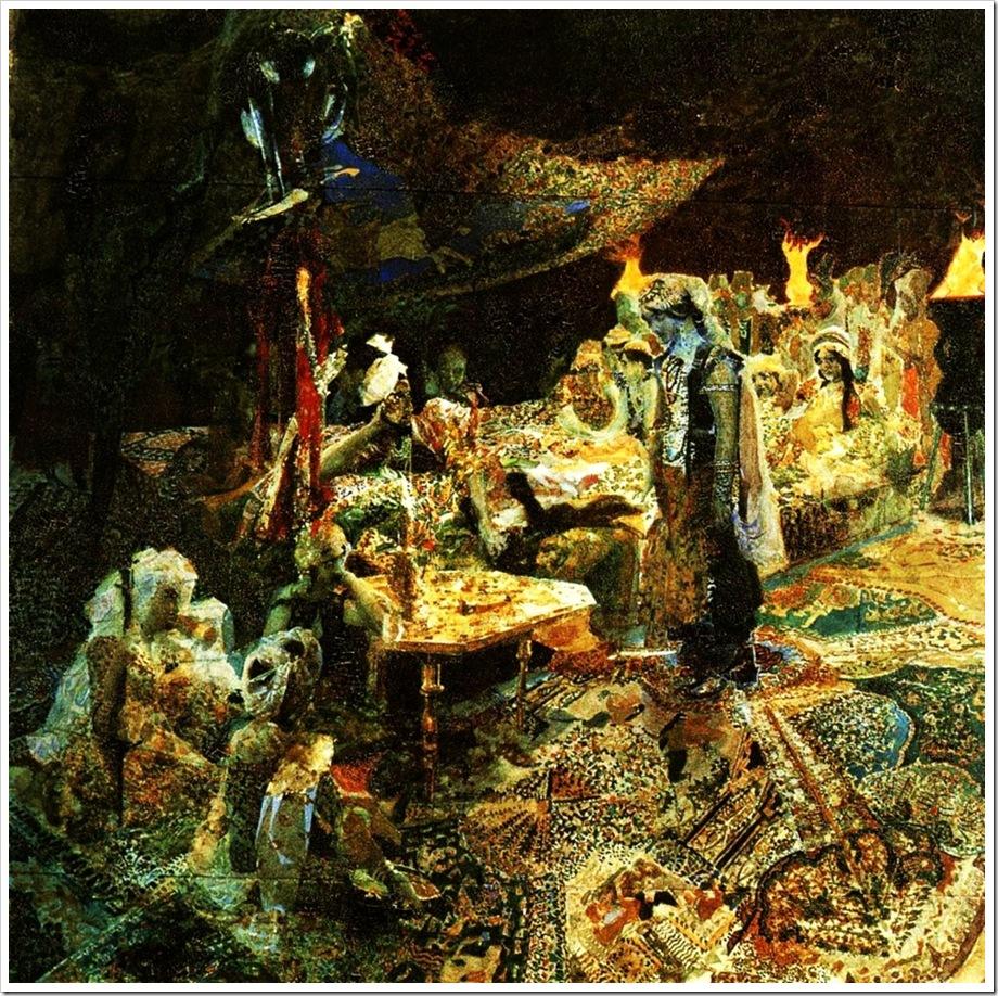 Михаил Врубель. Восточная сказка.1886