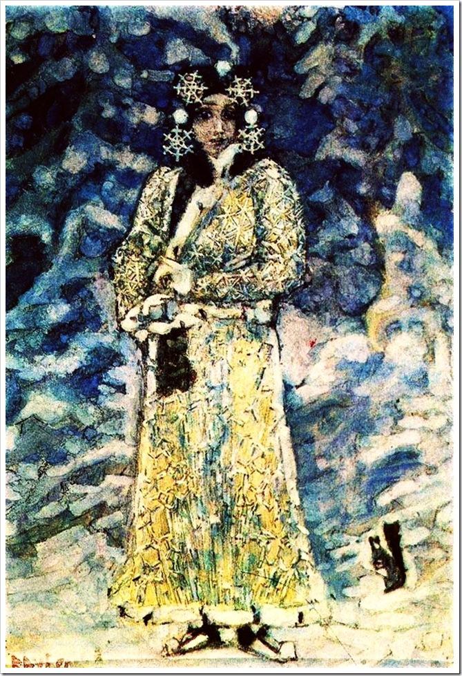 Михаил Врубель. Снегурочка.1890