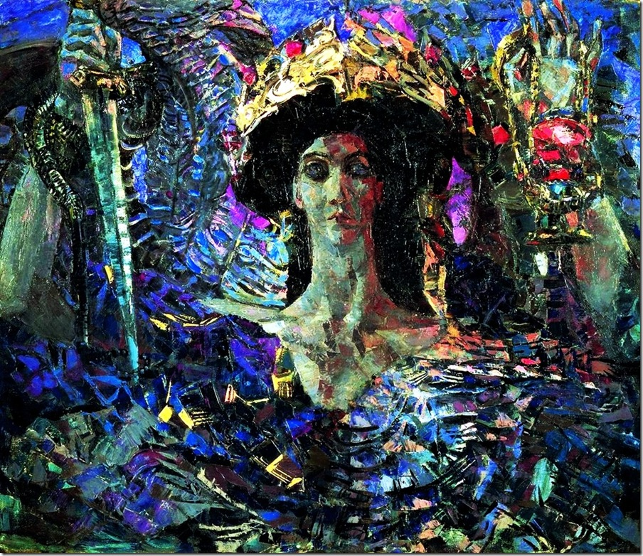 Михаил Врубель. Шестикрылый серафим (Азраил). 1904