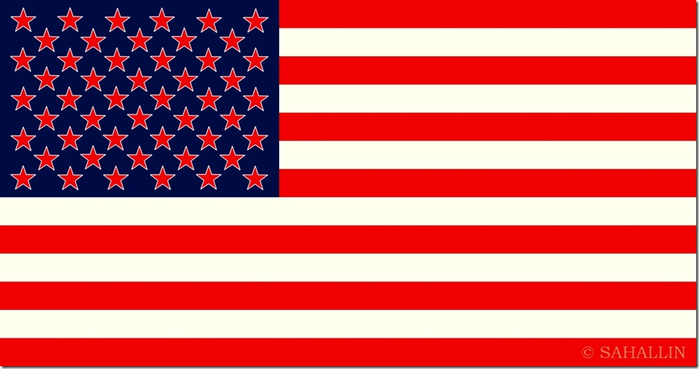 united states of america,New flag of the United Socialist States of America - USSA,sahallin