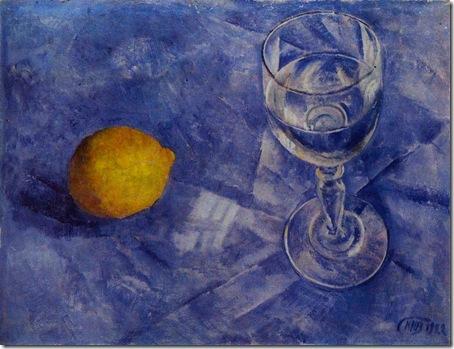 бокал и лимон 1922 год