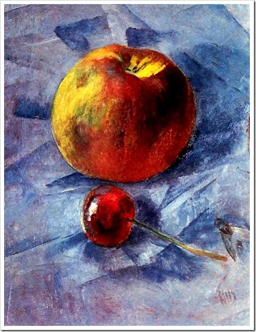 яблоко и вишня 1907 год