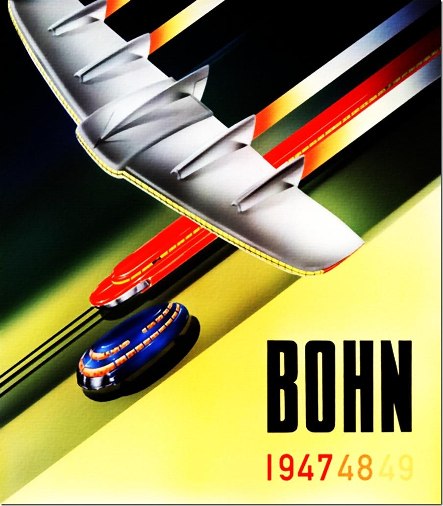 1947- Bohn flying wing- by Radebaugh
