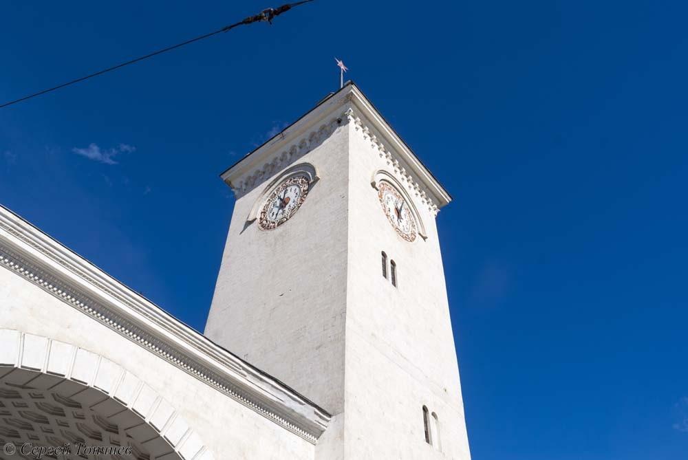 Городские часы. Симферополь.