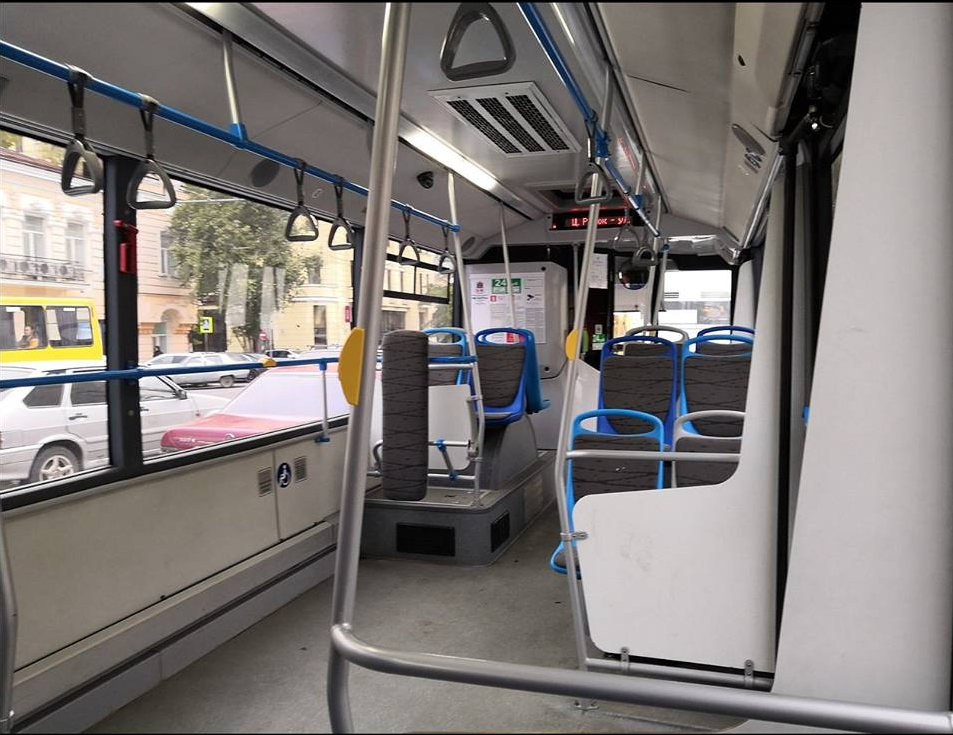 Комфортабельный автобус в Ростове