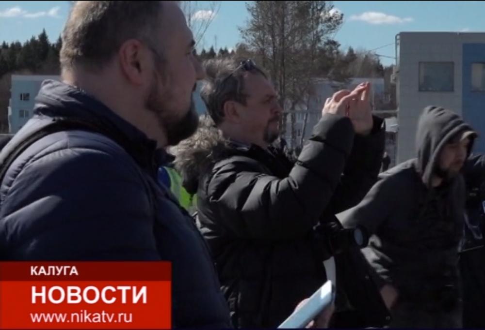 СМИ и блогеры в аэропорту Калуга