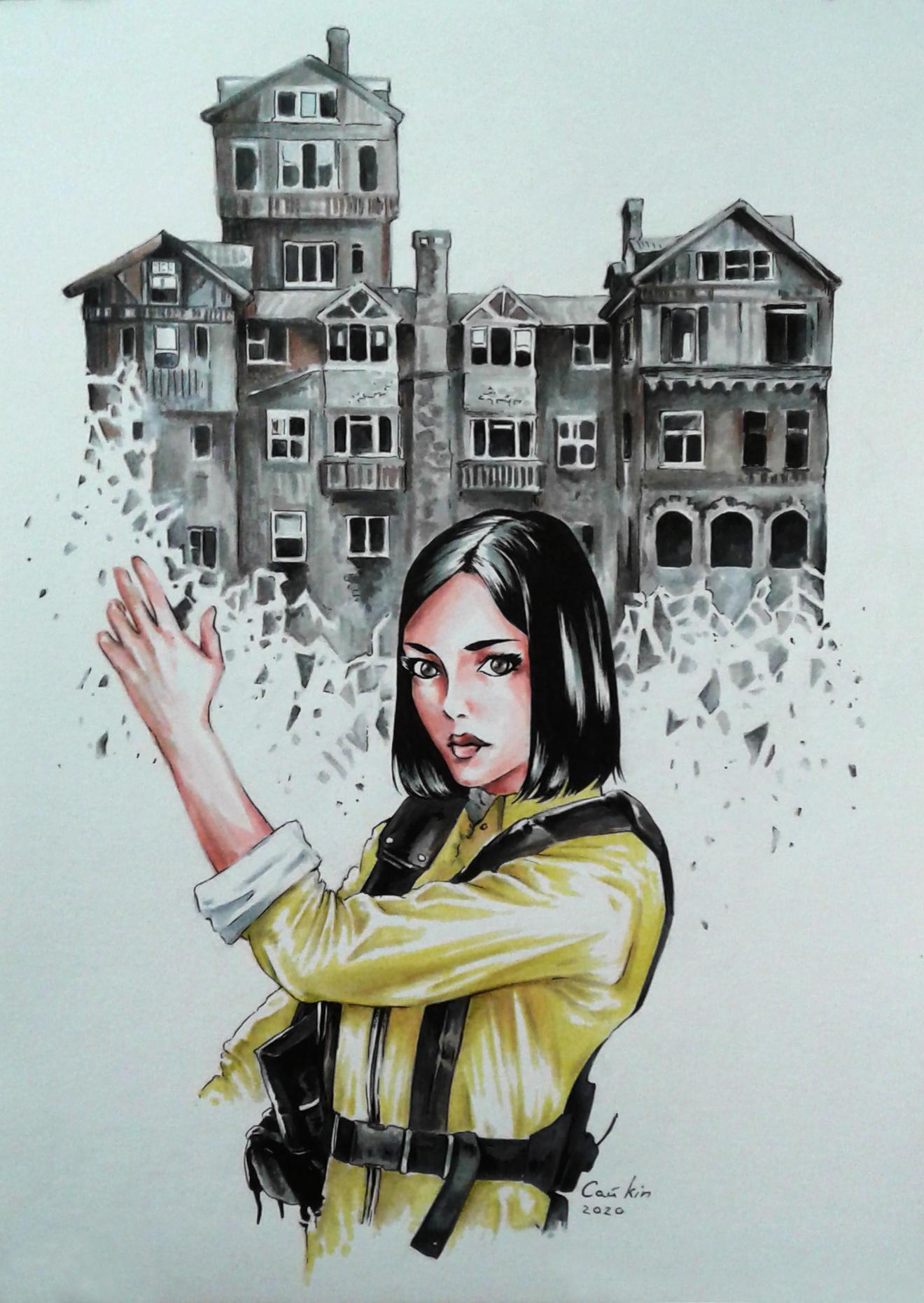 Юная мисс  Уоттс и разрушенные ею воздушные замки.