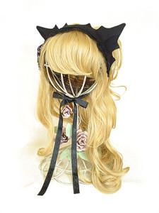 antique beast black cat headdress
